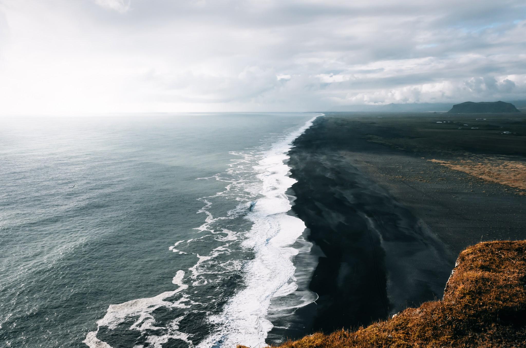 Iceland, Dyrholaey