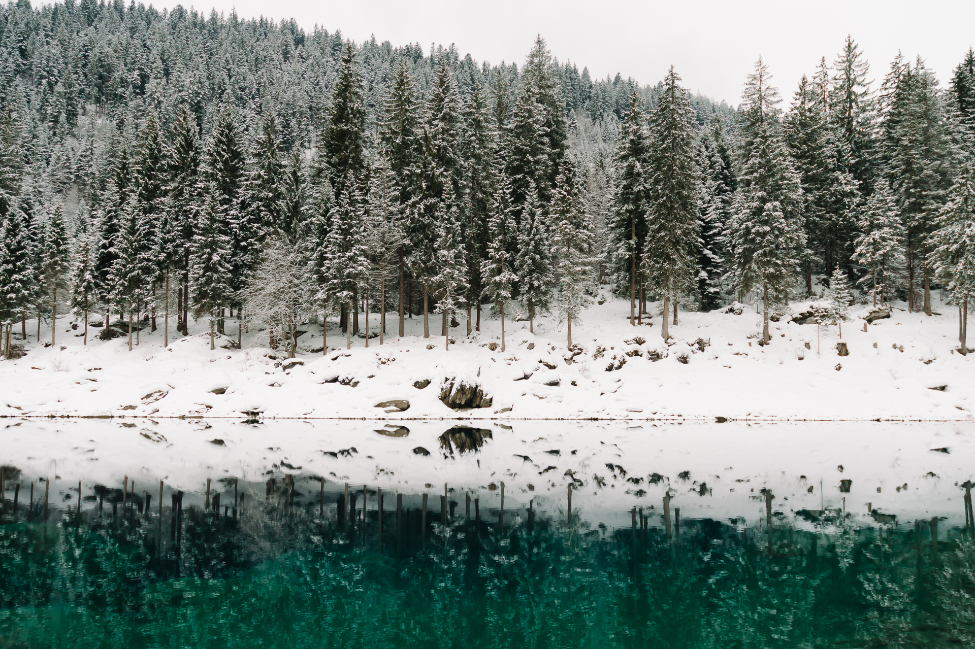 Caumasee, Laax, Switzerland, Graubunden