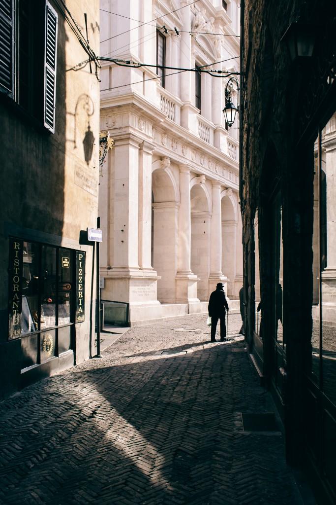 Bergamo, citta alta. Italy, Lombardy. Italia, Lombardia.
