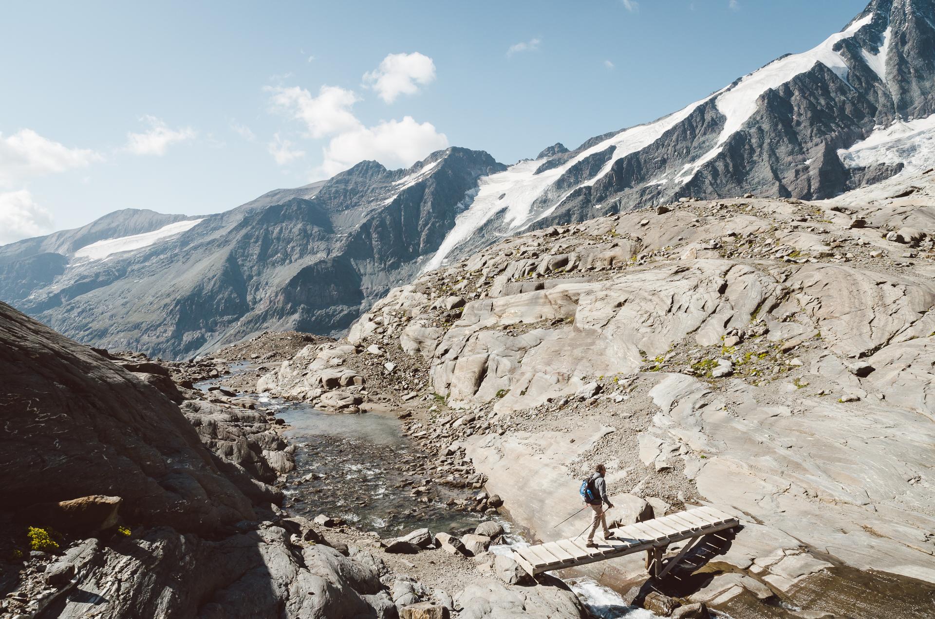Hike to Oberwalderhüette, Kaiser-Franz-Josefs-Hohe