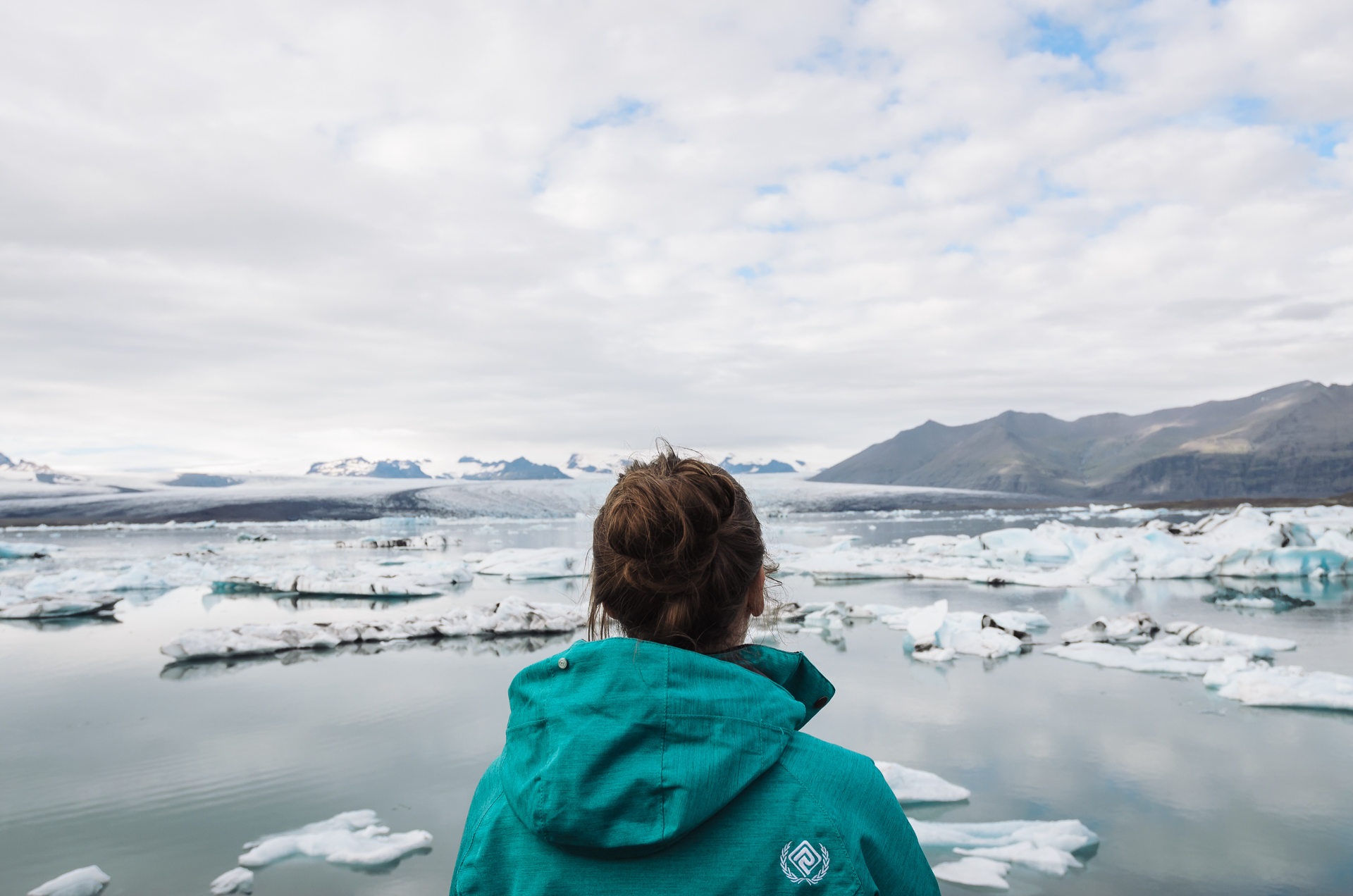 Jokulsarlon Glacier Lagoon, blue ice, iceland