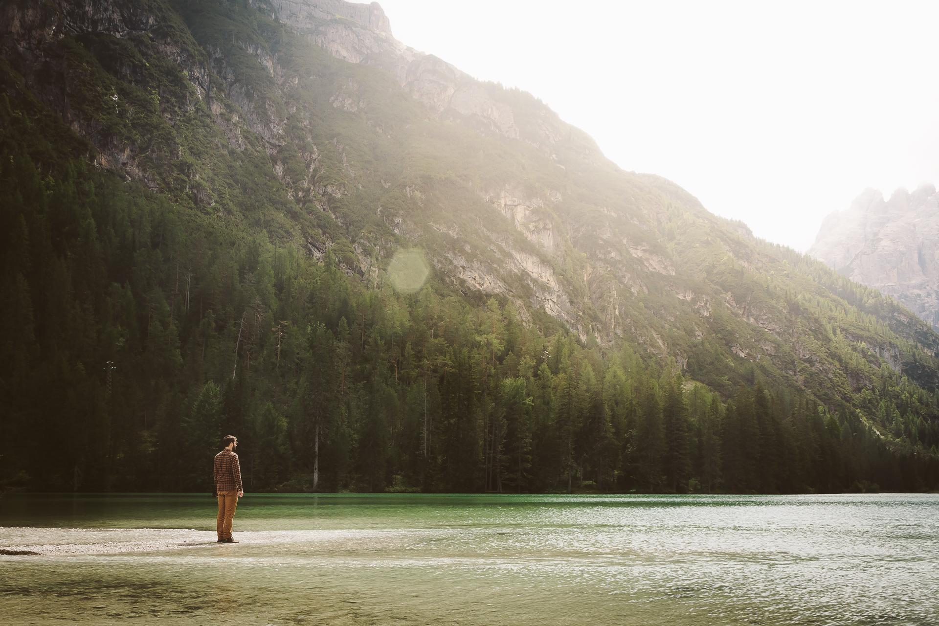 Lago di Landro, Italy, Dolomiti, Dolomites, South Tyrol