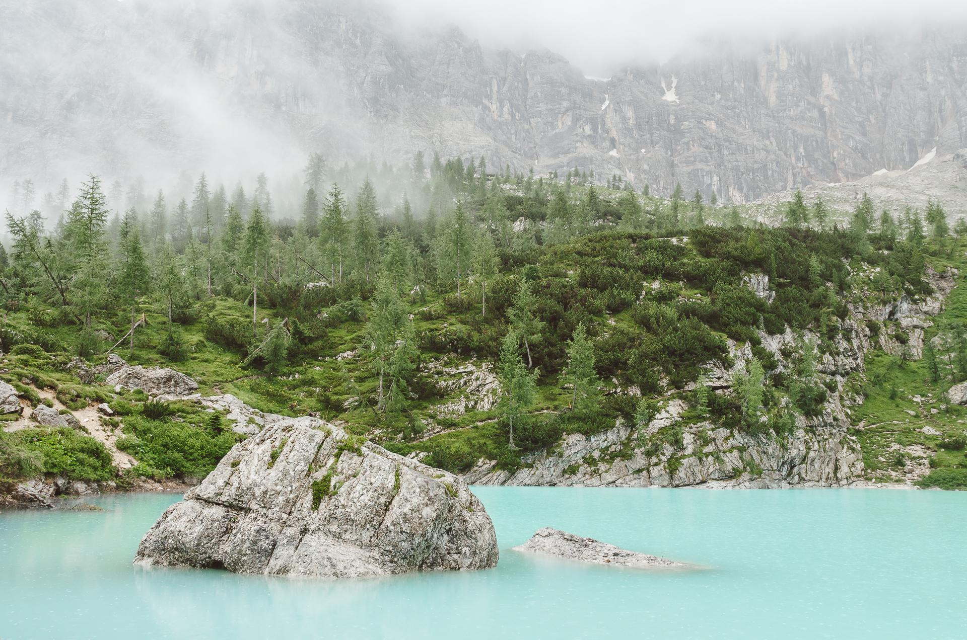 Lago di Sorapiss, Italy, Dolomiti, Dolomites,