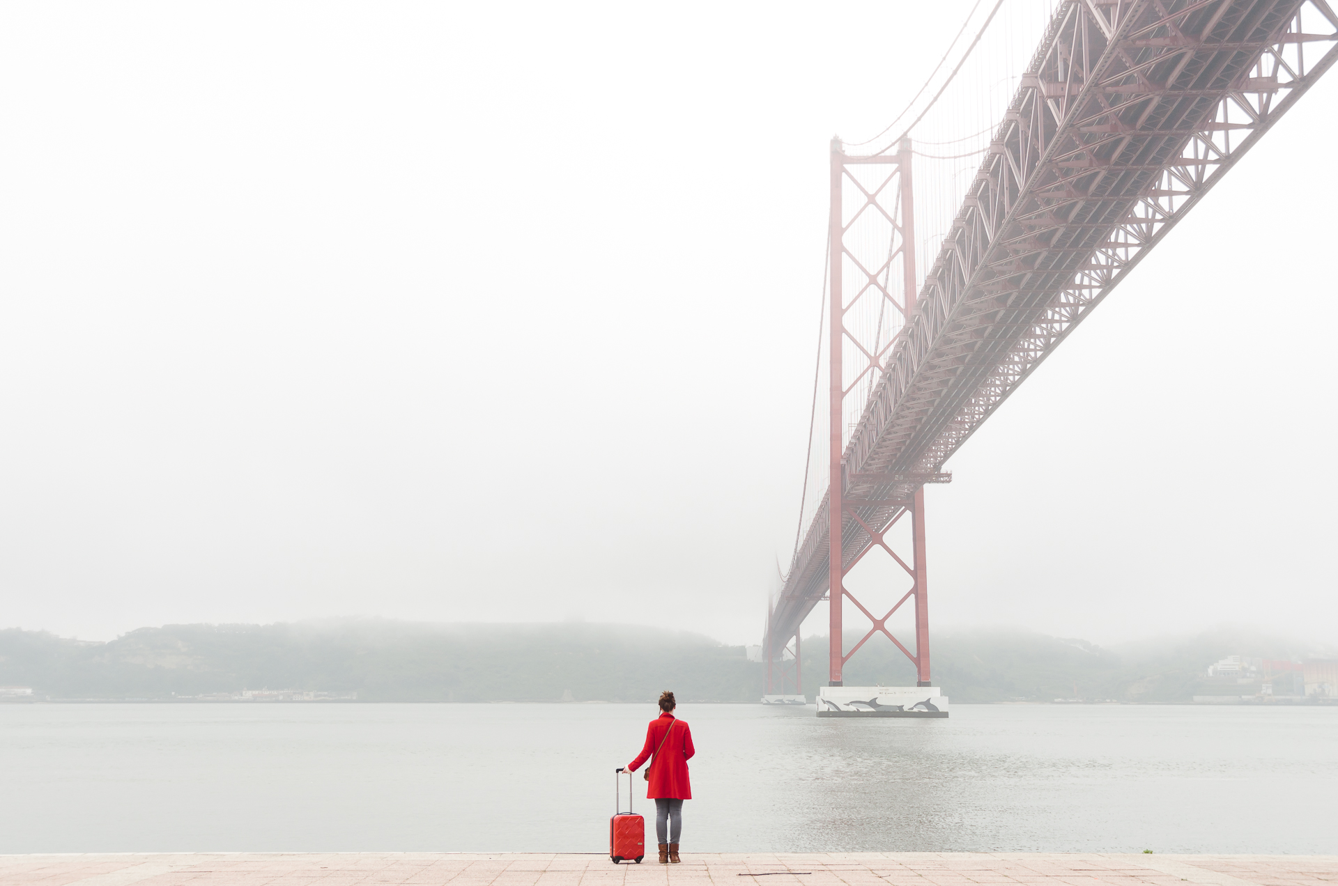 Ponte 25 de Abril, Lisbon, Portugal, bridge