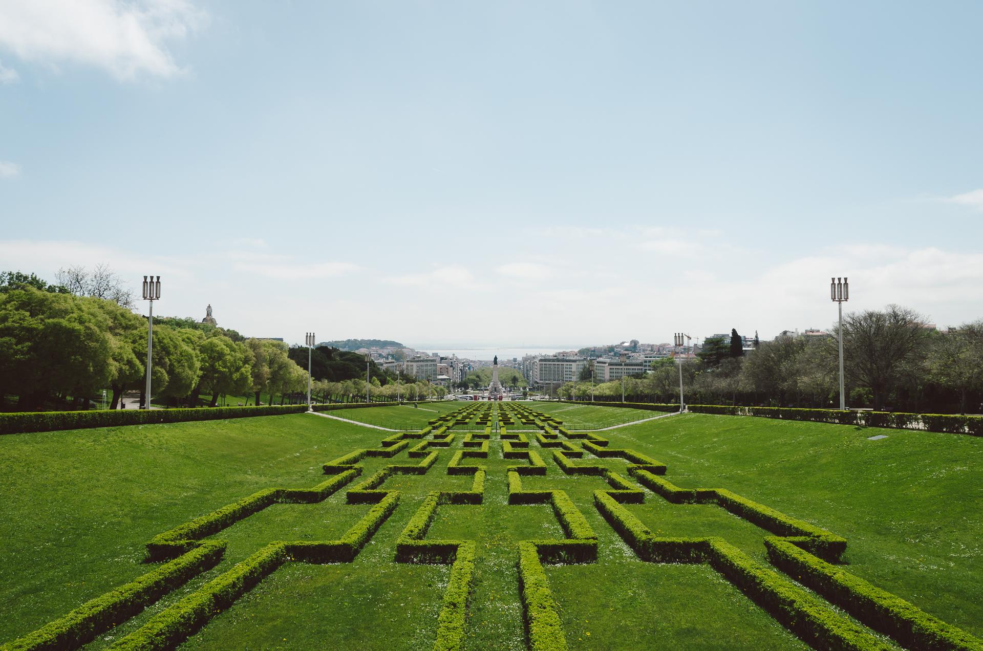 Eduardo VII Park, Lisbon, Portugal