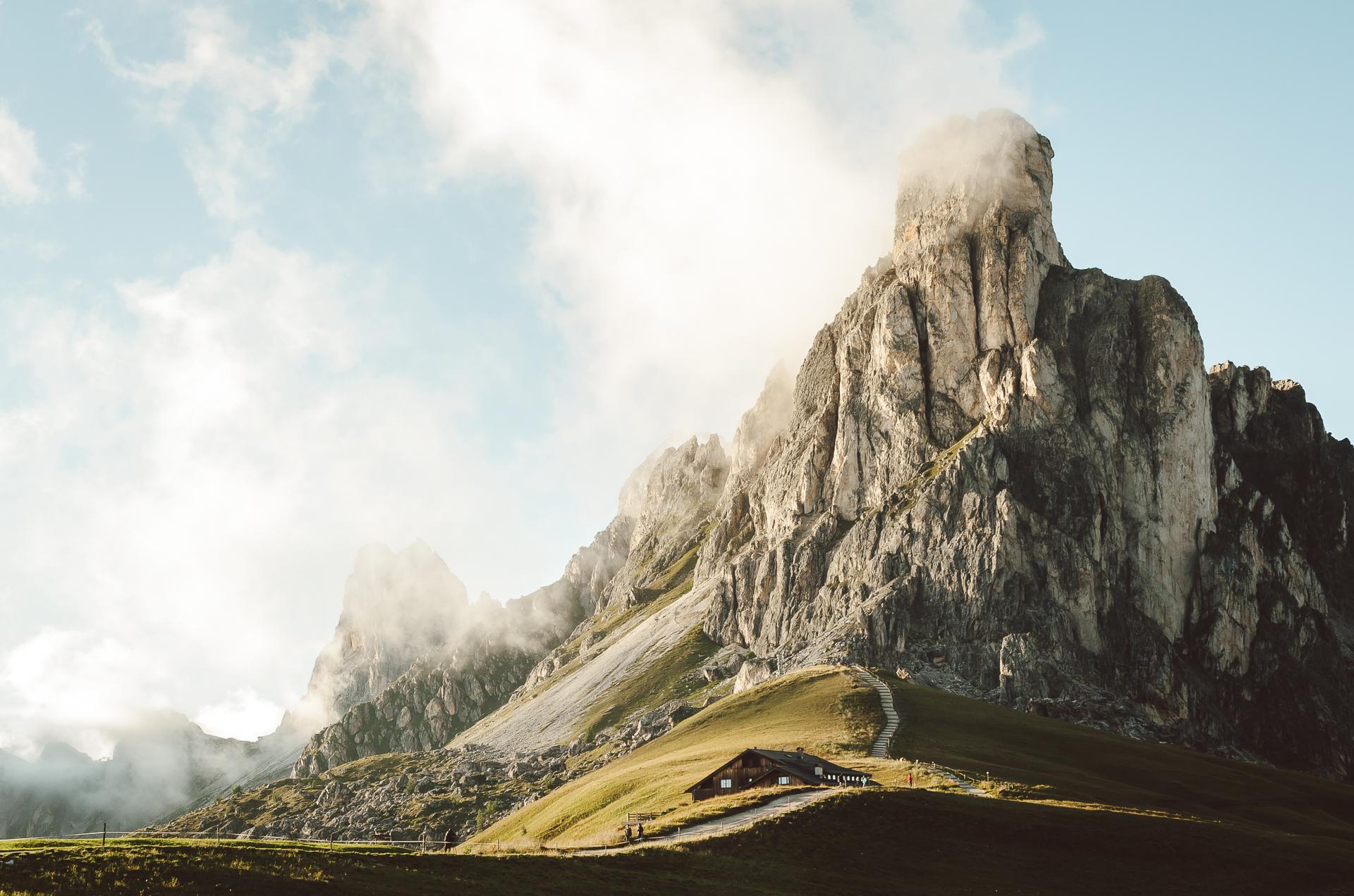Passo Giau, Italy, Dolomiti, Dolomites,