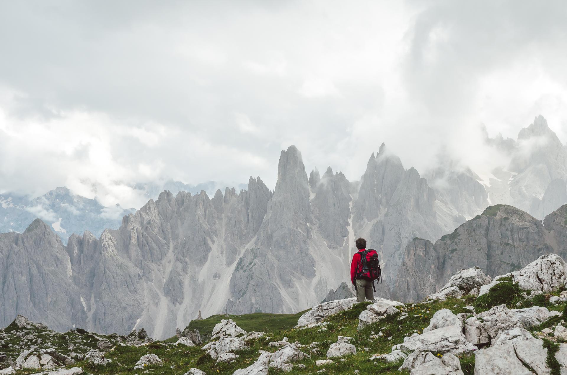 Tre Cime, Drei Zinnen, Italy, Dolomiti, Dolomites, South Tyrol