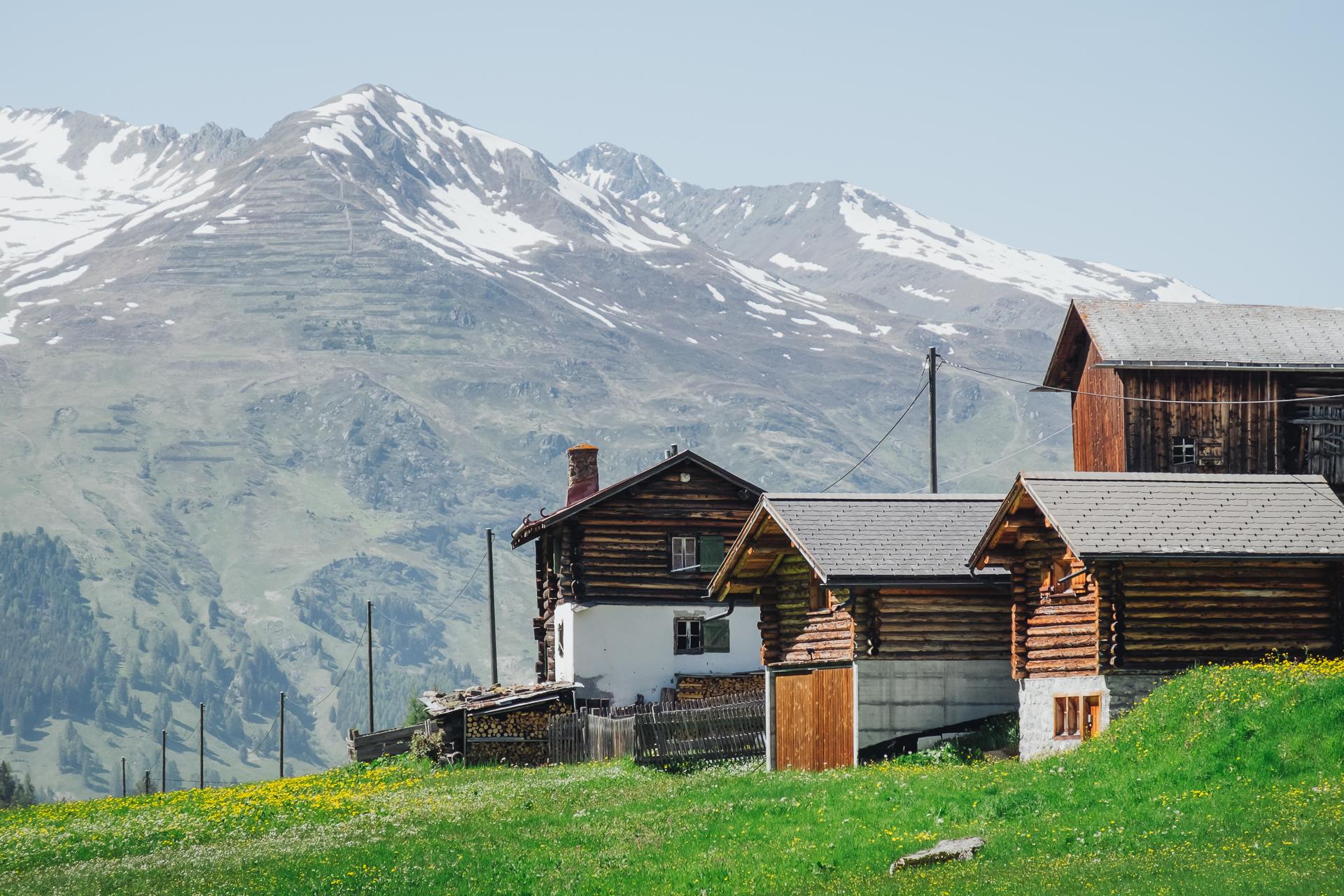 Dürrboden, Davos, Graubunden, Switzerland