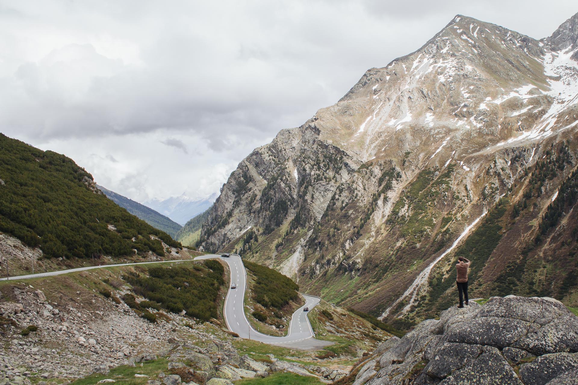 Flüela Pass, Davos, Klosters, Switzerland, Graubunden