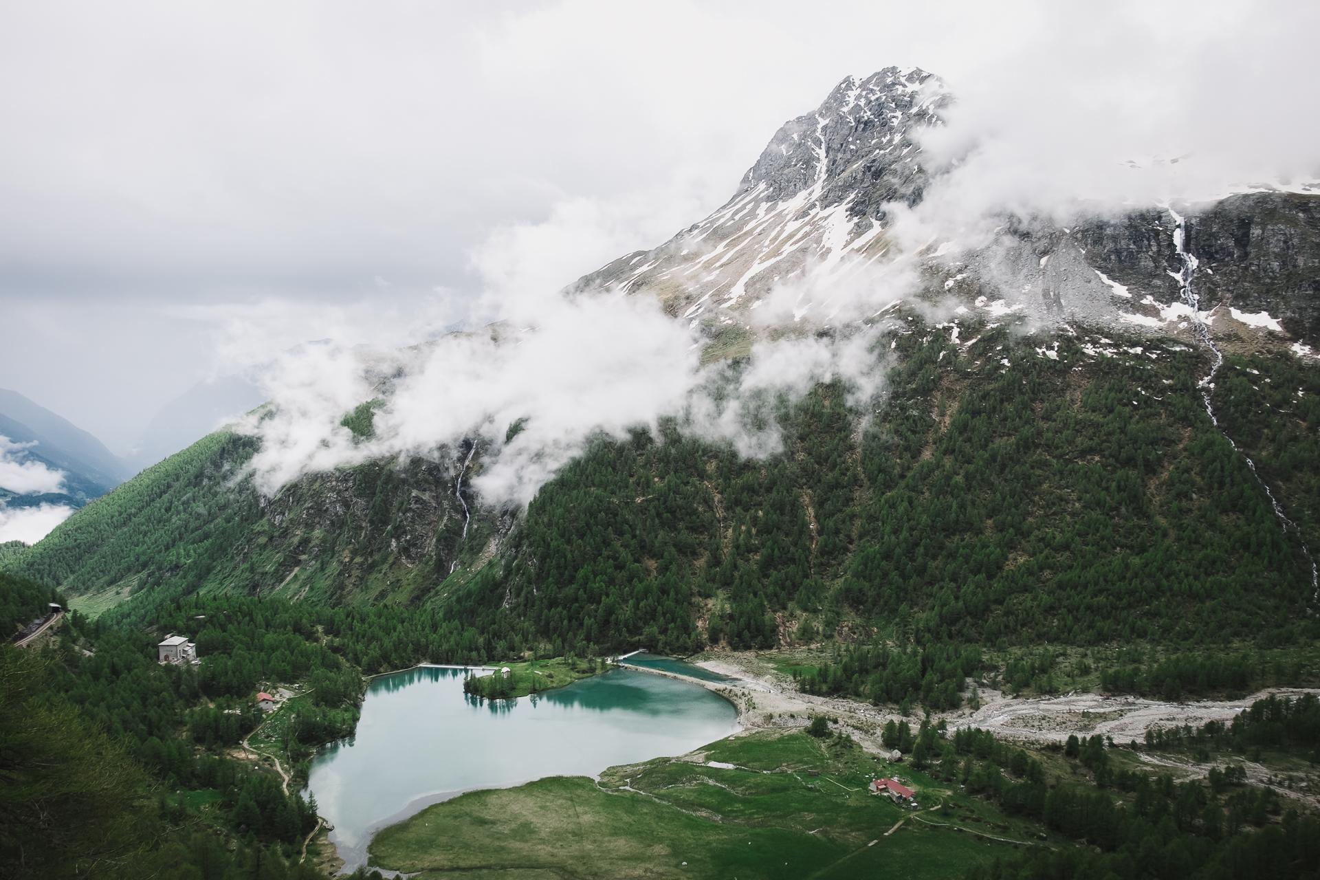 Alp Grüm, Graubunden, Engadin St Moritz