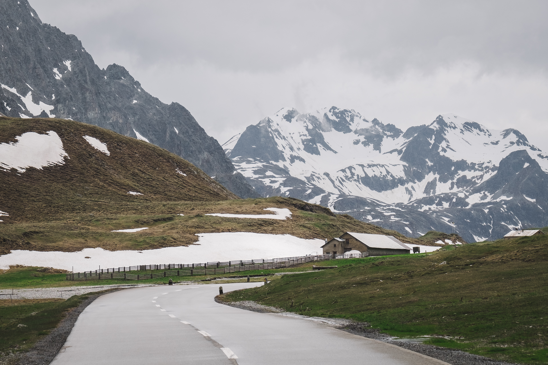 Albulapass, Graubunden, Switzerland, Bergun
