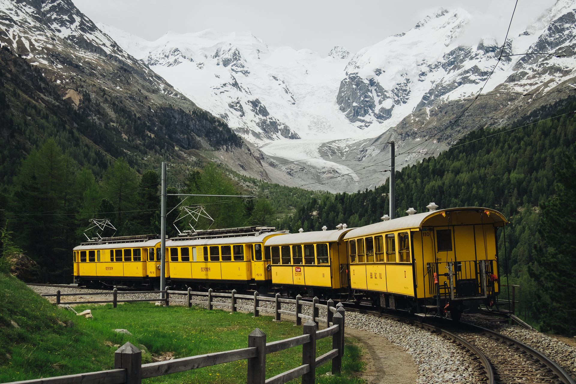 Rhaetische Bahn- Graubunden - St Moritz-4