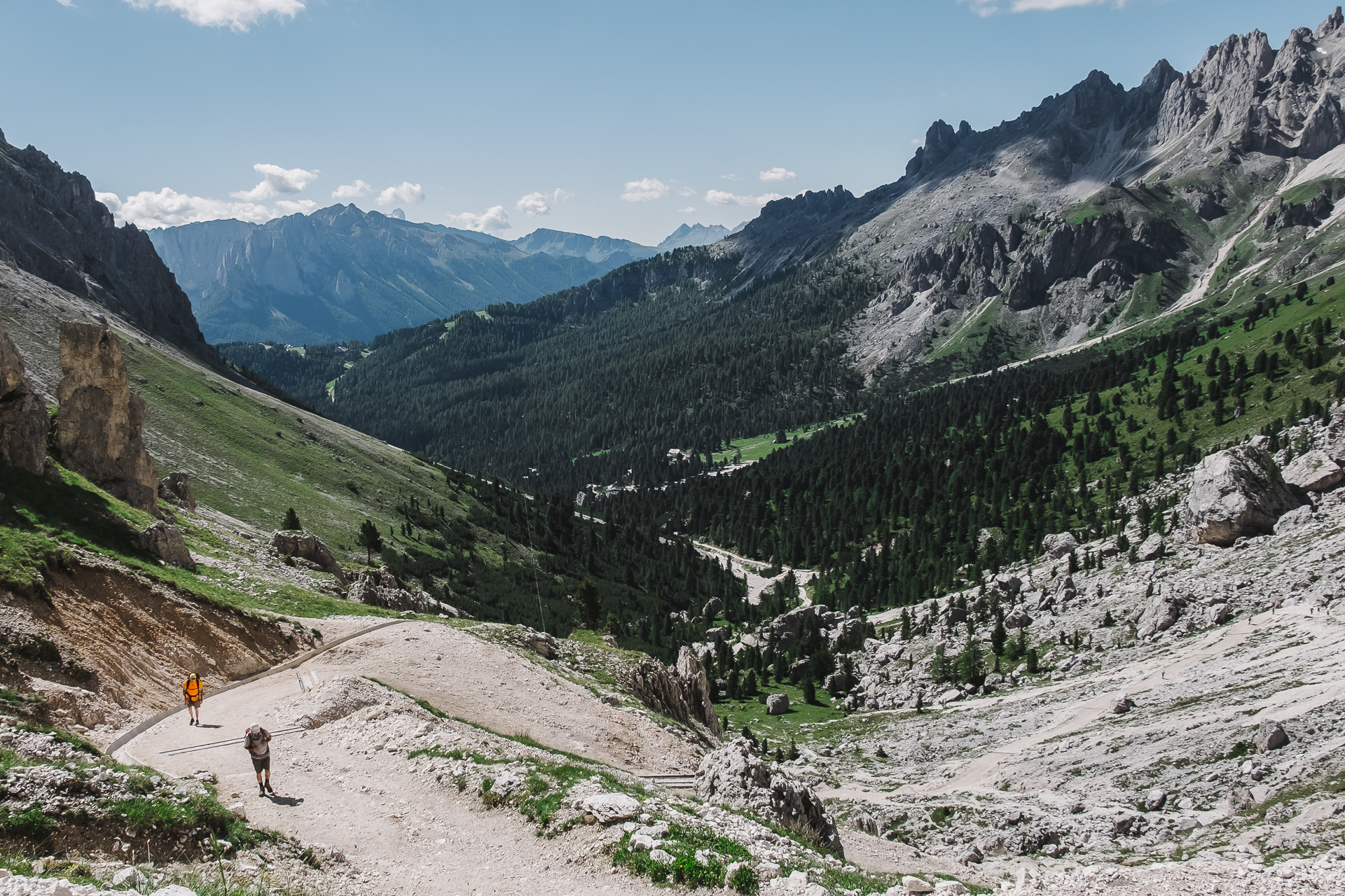 Ré Alberto, Vajolet, Catinaccio, Rosengarten, Val di Fassa, Canazei, Italy, Travel