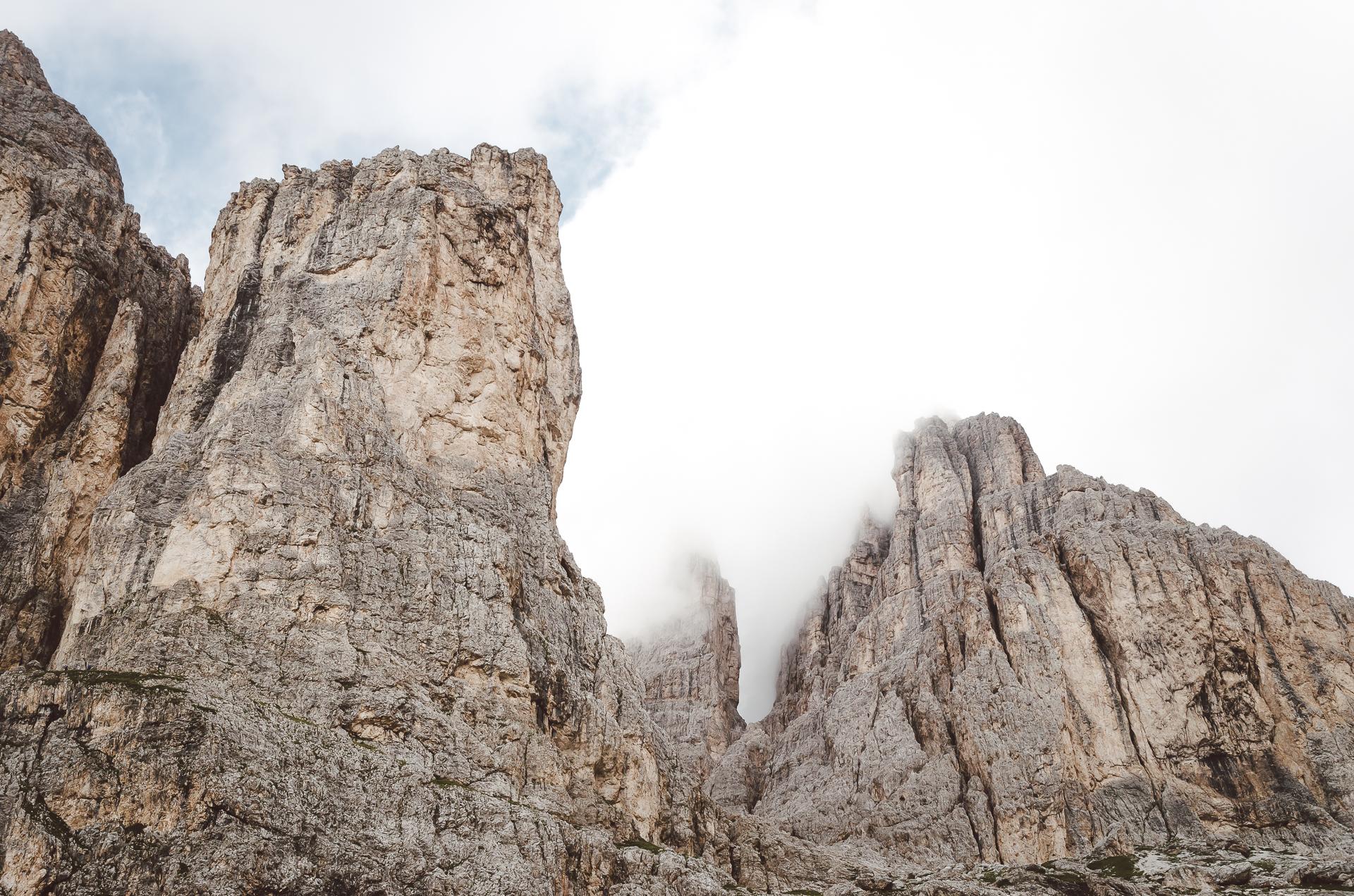 Vajolet, Catinaccio, Rosengarten, Val di Fassa, Canazei, Italy, Travel