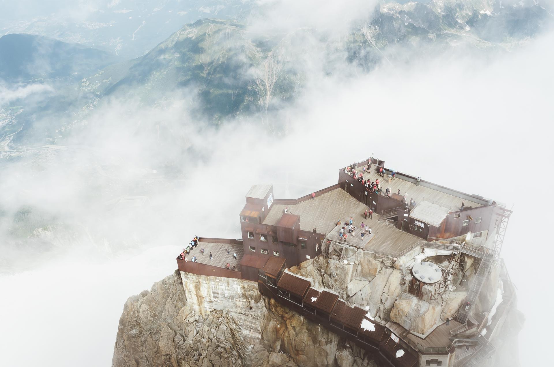 Chamonix, Aiguille de Midi, Alps