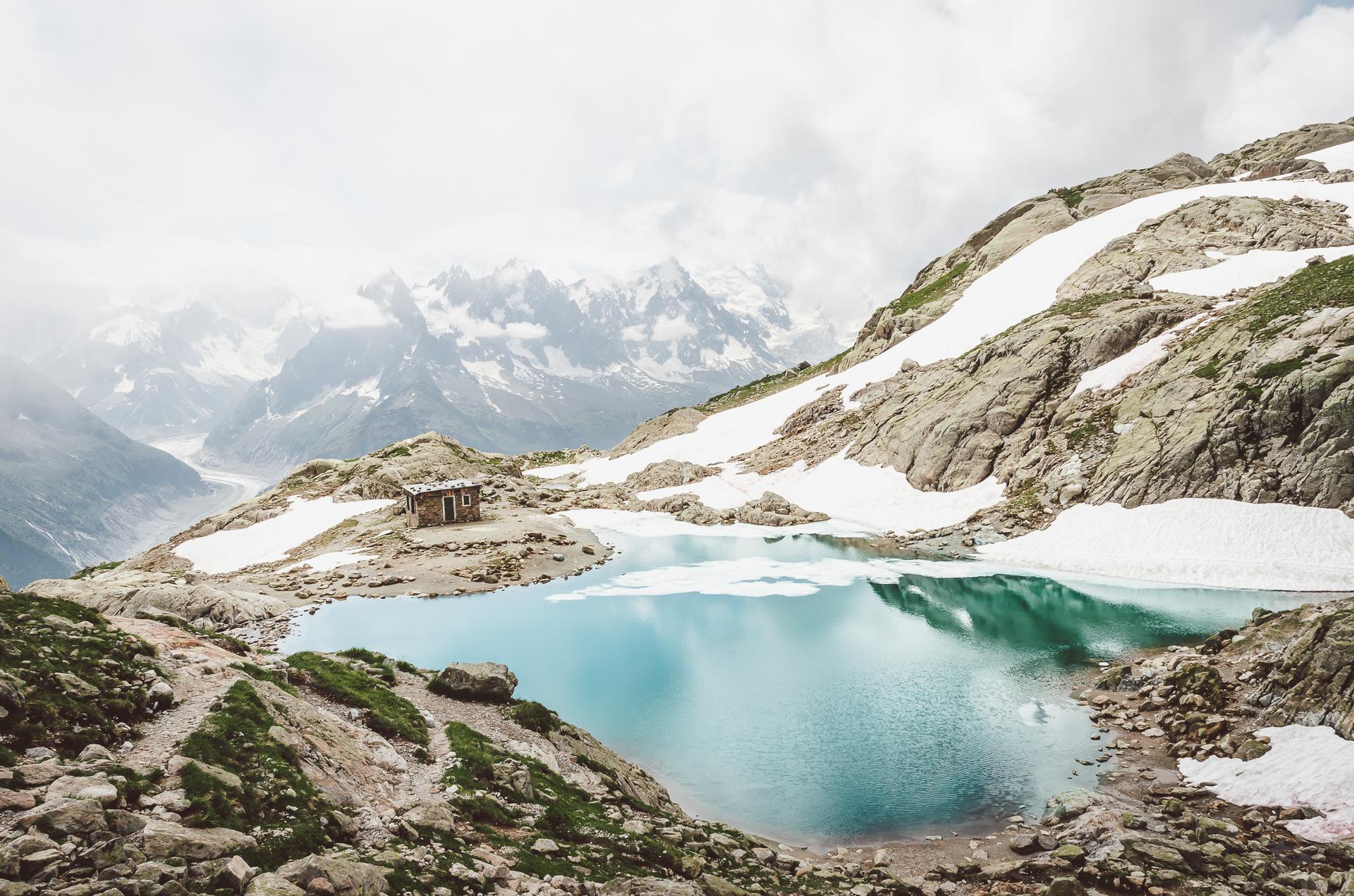 Chamonix, Lac Blanc, Alps