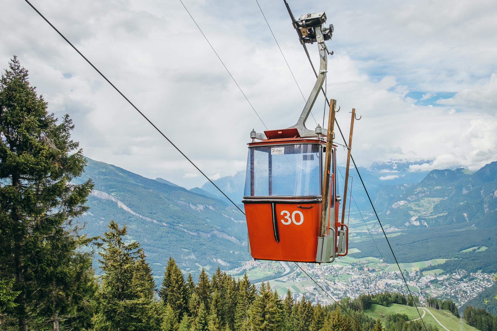 Brambuesch, Chur, Graubunden, Switzerland