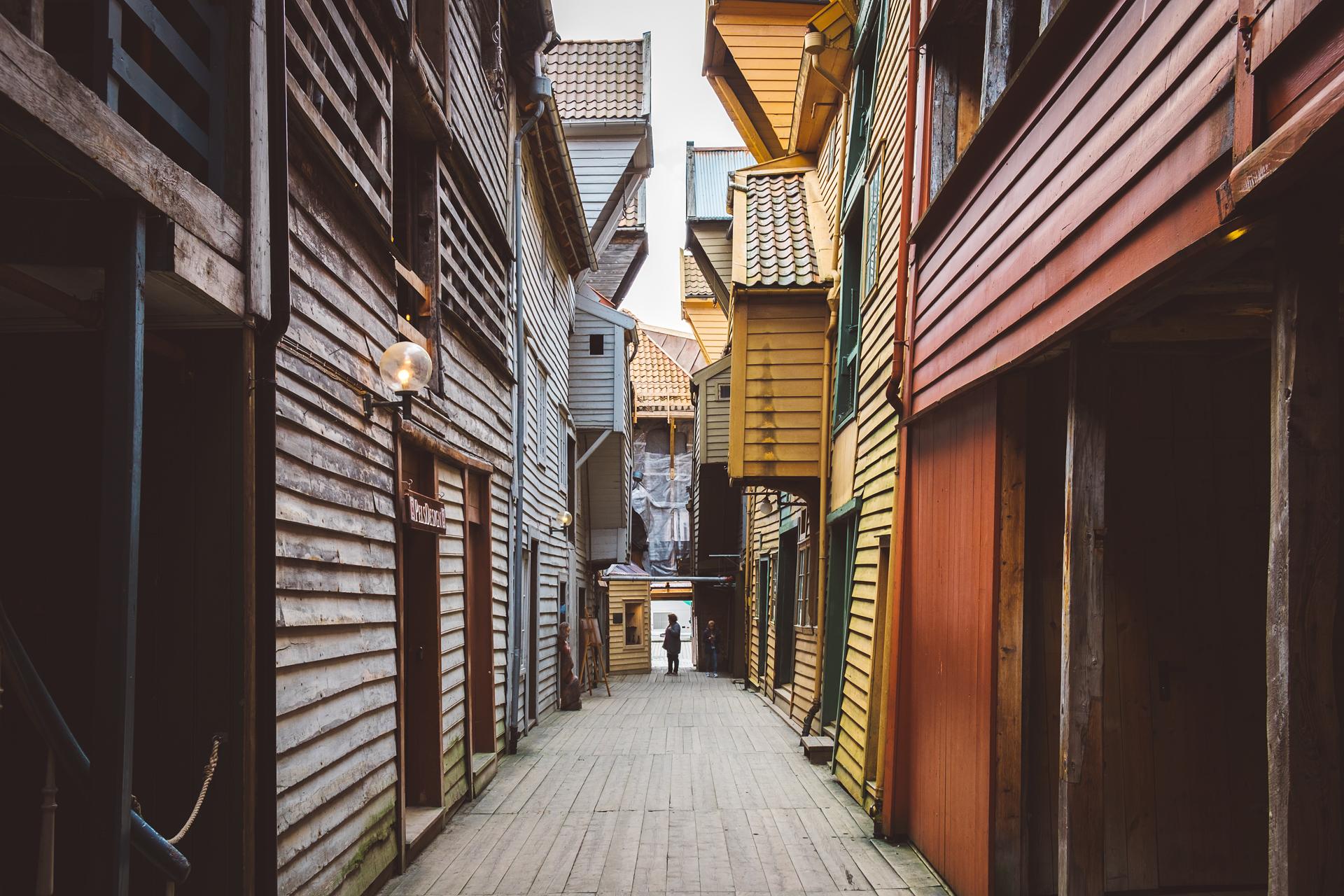卑尔根,挪威,峡湾,