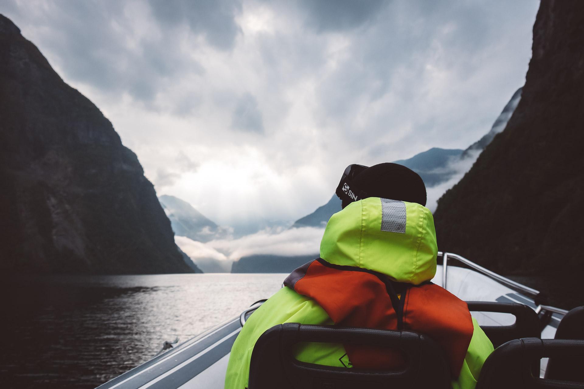 Sognefjord, Fjordsafari