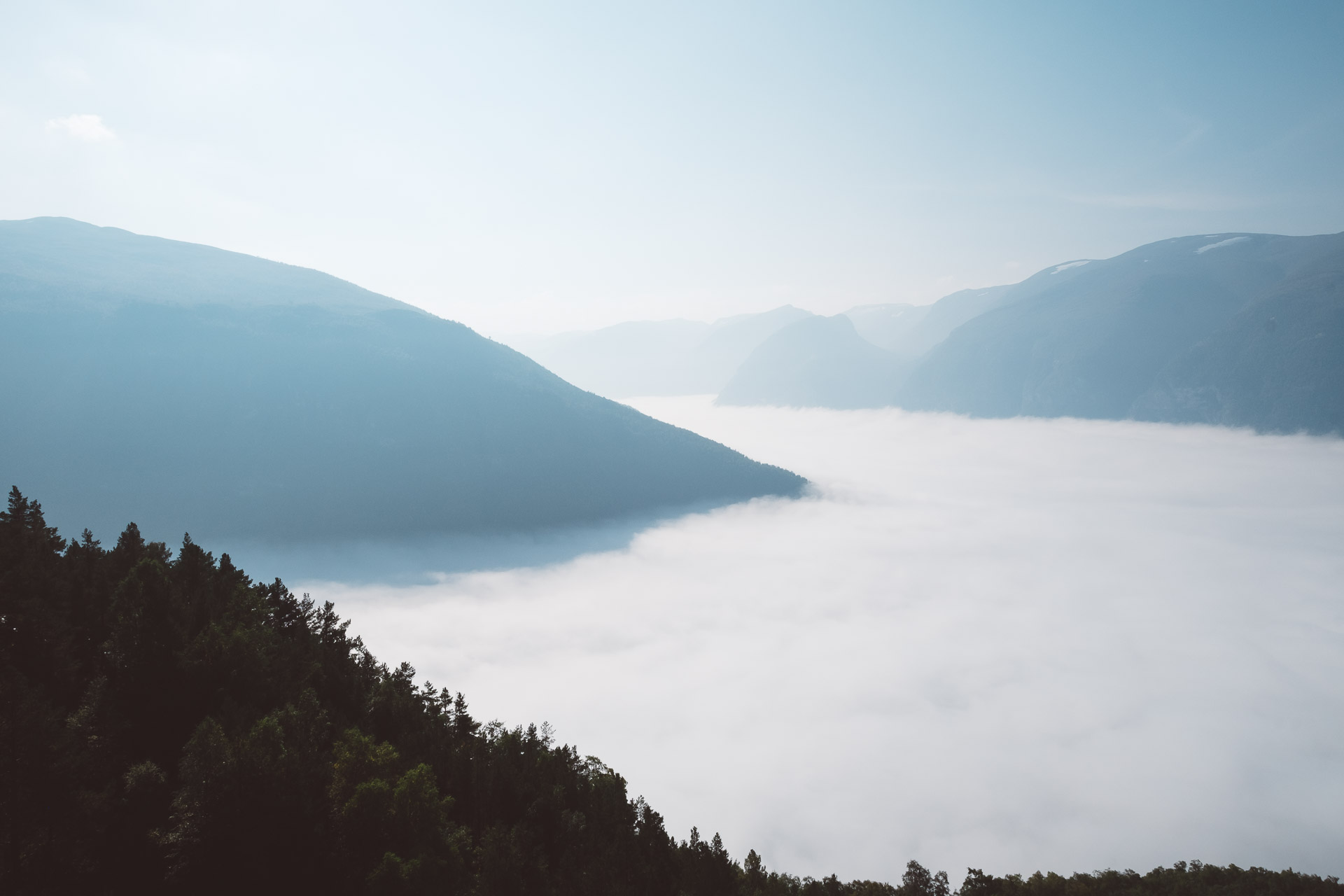 Stegastein, Aurlandsfjellet, Fjords, Norway, Sognefjord, Aurland, Laerdal