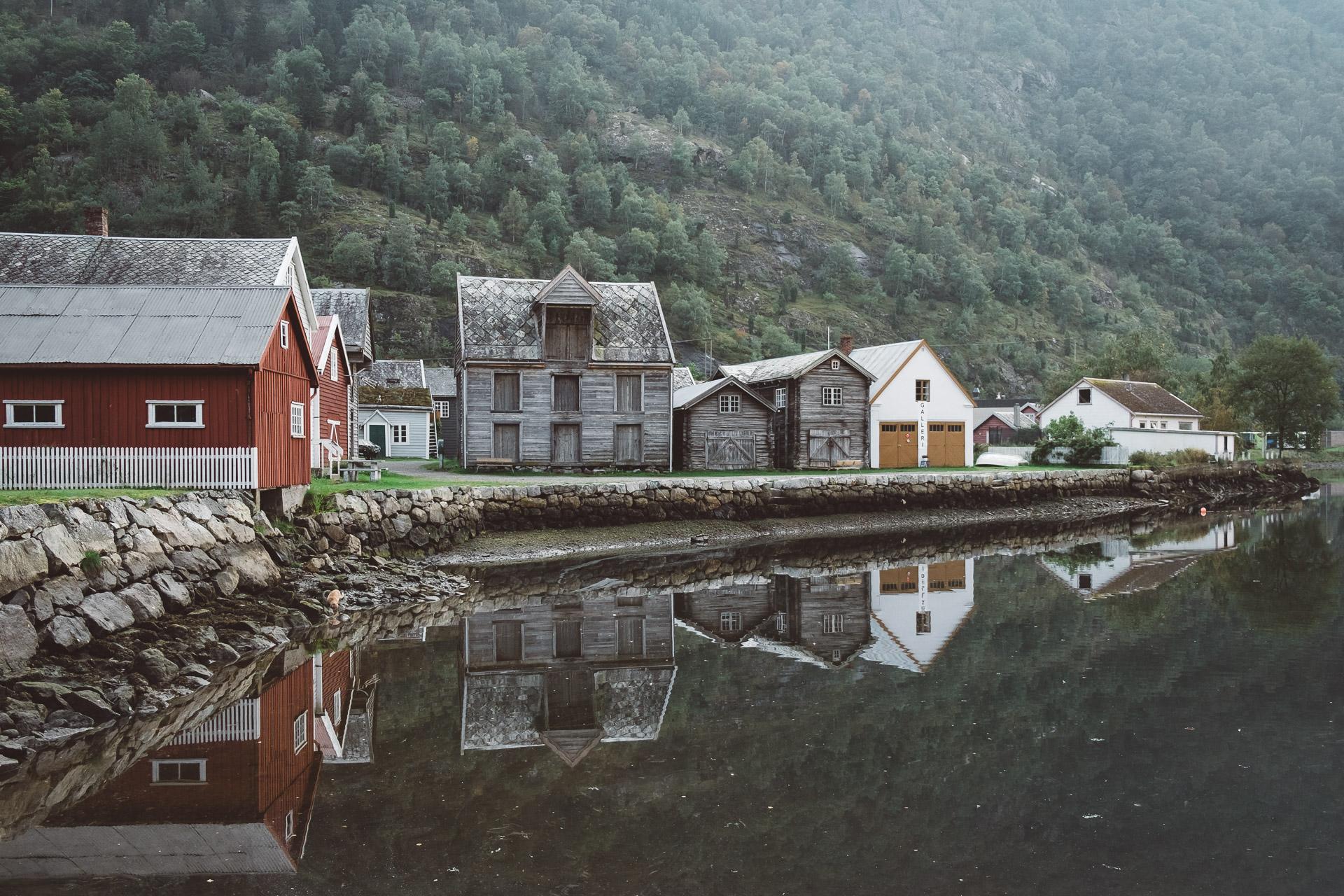 Lærdal, Norse Villakssenter, Norway, Fjords, Sognefjord