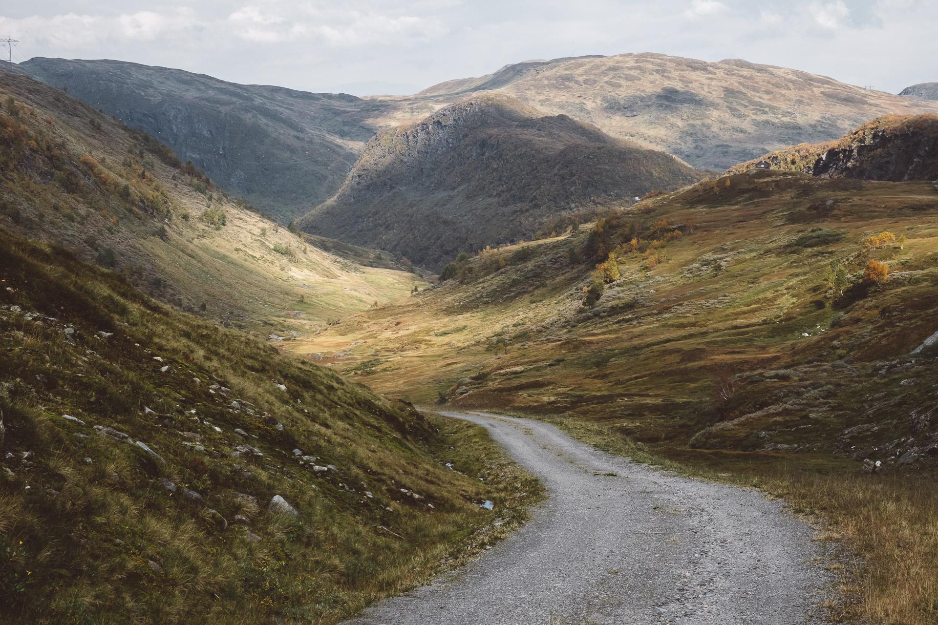 Vikjafellet Road, Vik, Norway, Sognefjord, Voss, Fjords