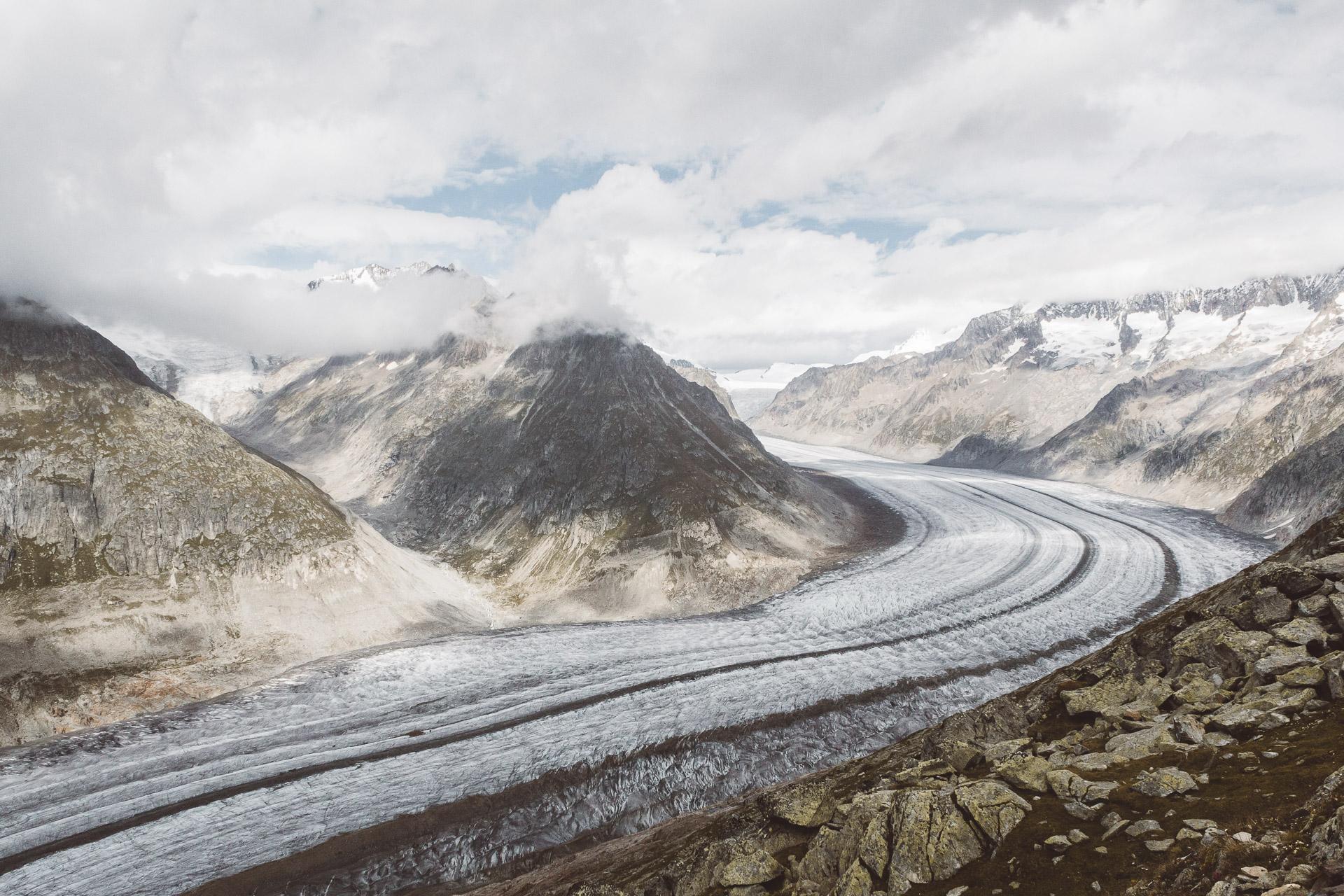 Aletsch Glacier, Switzerland, Aletsch, Hike, Wallis