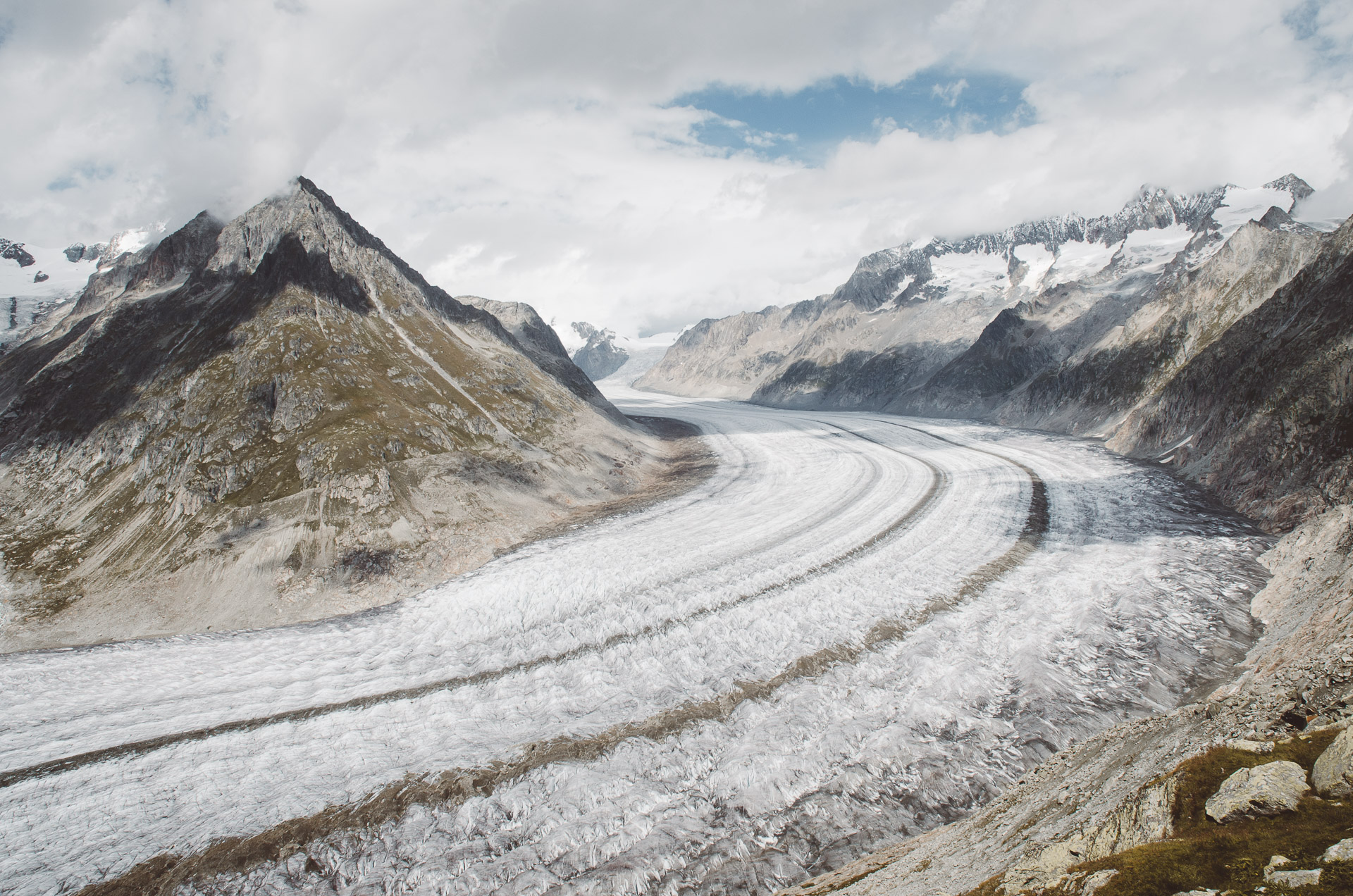 Aletsch Glacier, Switzerland, Aletsch, Hike, Wallis