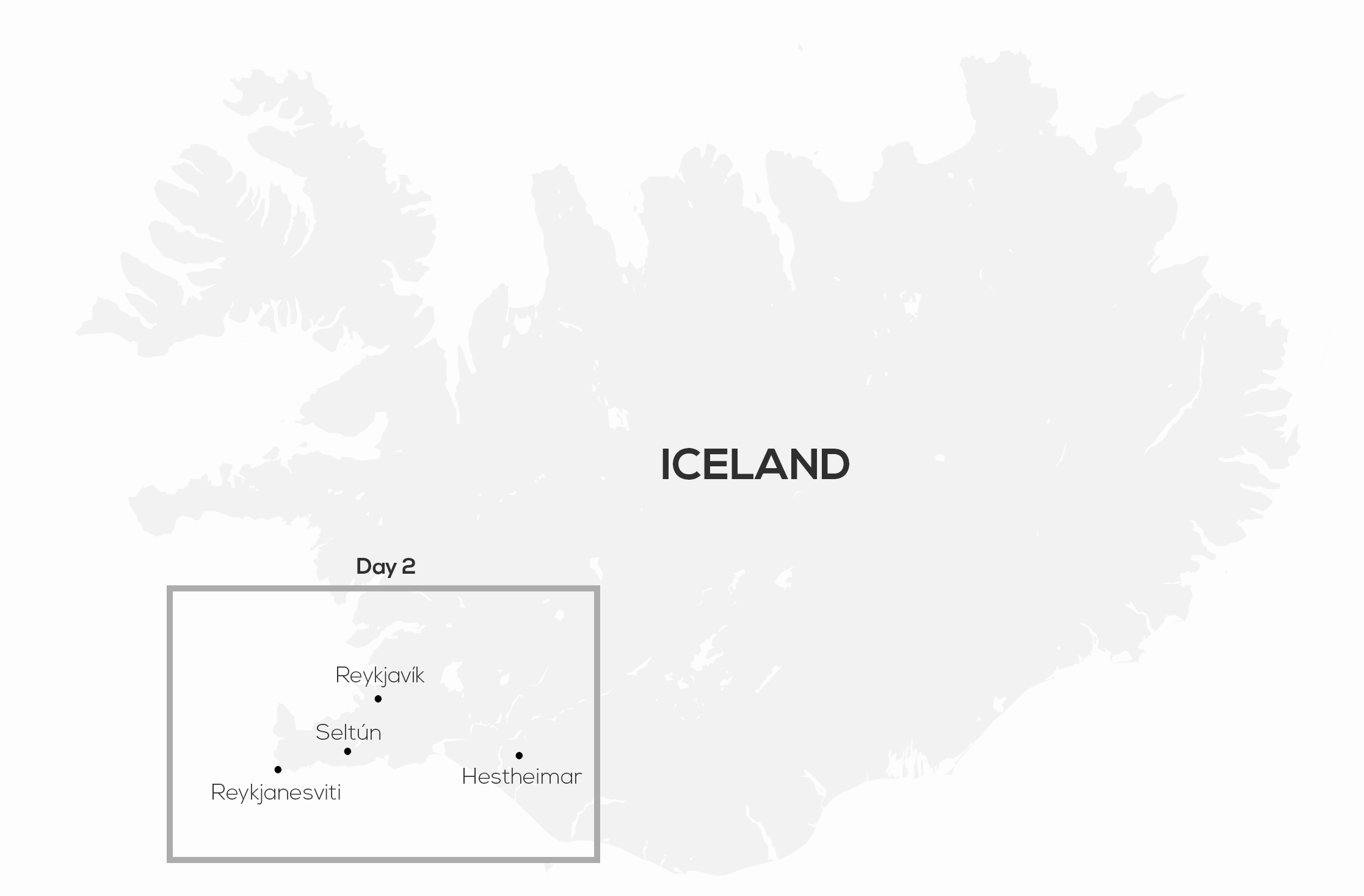 Iceland two weeks itinerary