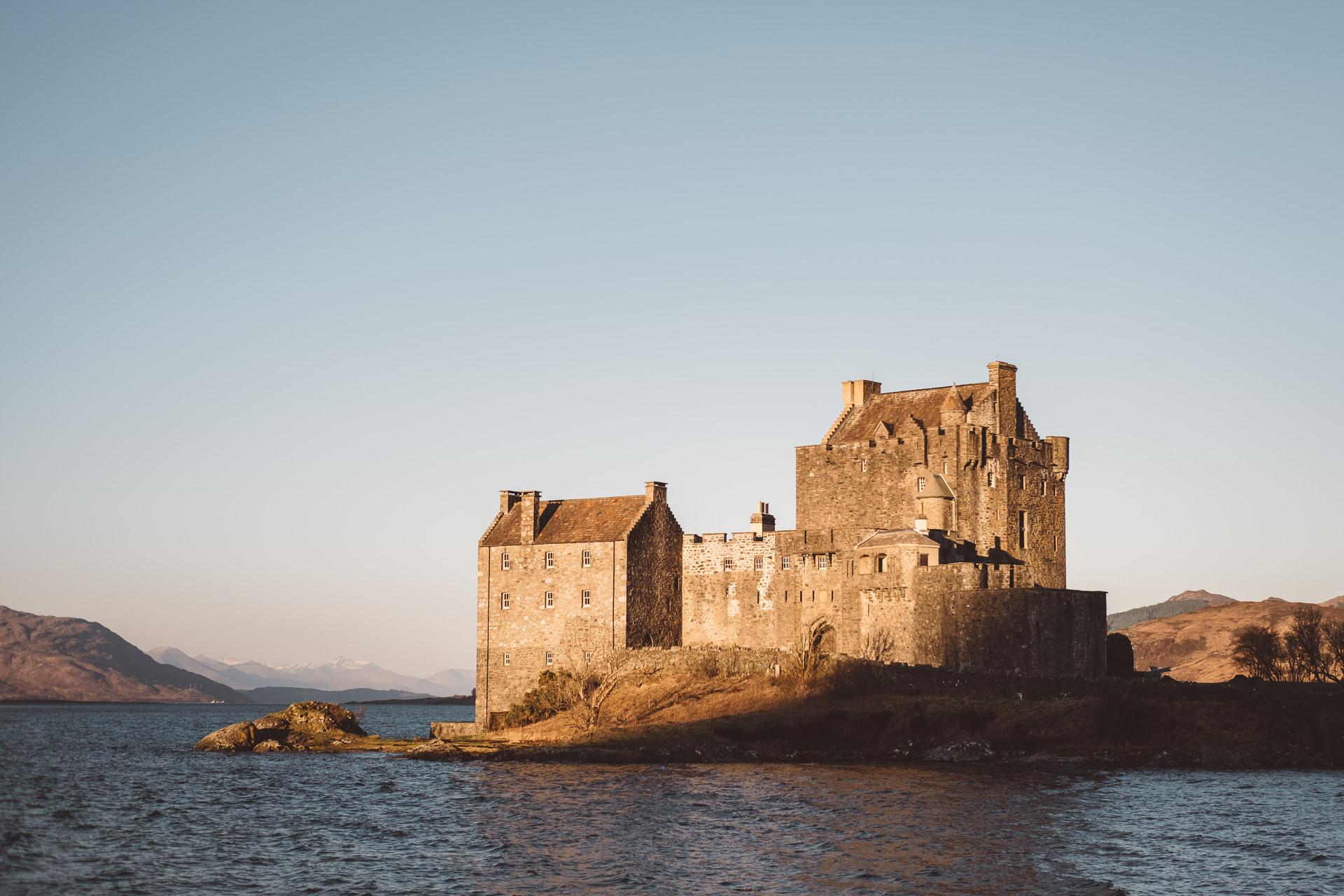 Scotland, Isle of Skye, Eilean Donan Castle