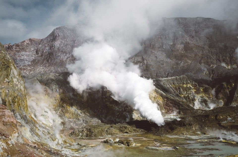 Walking on an active volcano – White Island